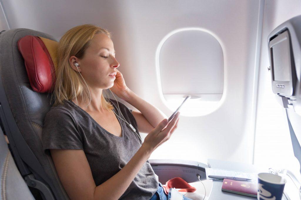 飛行機_暇つぶしのイメージ画像
